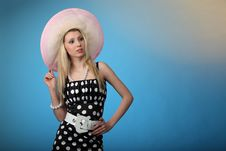 Free Girl In Sundress Royalty Free Stock Images - 14650269