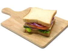 Free Ham Sandwich Stock Images - 14650354