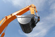Free Excavator Bucket Royalty Free Stock Image - 14650436