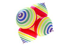 Free Striped Balloons Royalty Free Stock Photo - 14650445