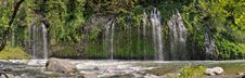 Mossbrae Falls Dunsmiur Royalty Free Stock Images