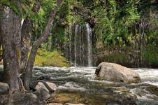 Mossbrae Falls Dunsmiur 3 Stock Images
