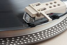 Free Close Up Of Turntable Cartridge Royalty Free Stock Photo - 14651955
