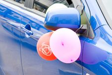Free Wedding Car Decoration Stock Images - 14652574