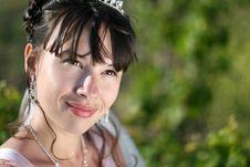 Free Bride In Vineyard Stock Image - 14652721