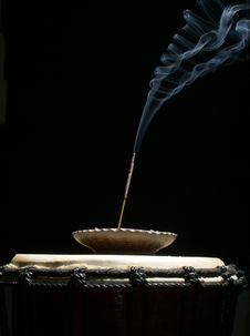 Free Burning Aromatic Stick Stock Photo - 14652900