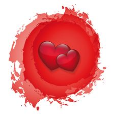 Free Vector Heart Royalty Free Stock Photos - 14653218