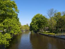 Free Amsterdam Canal Stock Photography - 14653282
