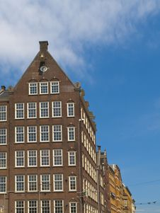 Free Typical Amsterdam Architecture Stock Image - 14653301