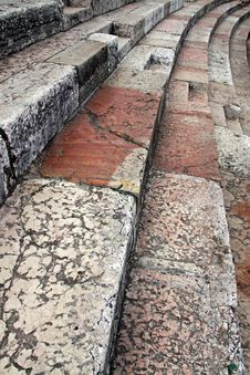 Free Old Rock Steps Of Italian Architecture Stock Photography - 14653322