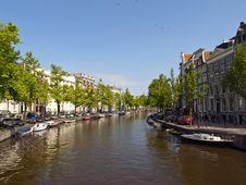 Free Amsterdam Canal Stock Image - 14653491