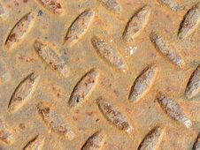 Free Rusty Metal Texture Royalty Free Stock Photography - 14653507