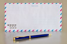 Free Airmail Envelope Stock Photography - 14654882