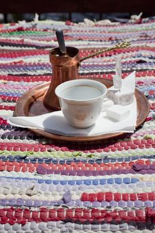 Bosnian Coffee Royalty Free Stock Photos