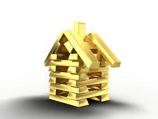 Free Golden House Royalty Free Stock Photo - 14656115