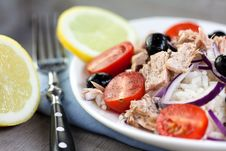 Tuna Salad With Rice Stock Images