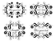 Free Calligraphic Collection Stock Photography - 14657682