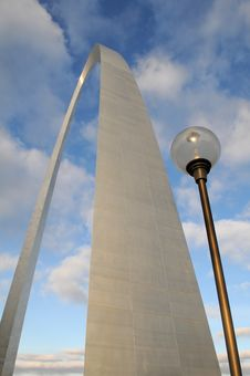 Free Saint Louis Arch Royalty Free Stock Photo - 14658075