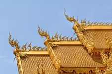 Traditional Thai Style Royalty Free Stock Photography