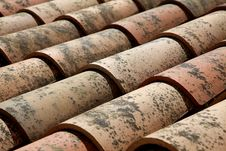 Free Roof Tiles Royalty Free Stock Photography - 14659097