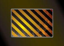 Free Grunge Warning Background Royalty Free Stock Photography - 14659557