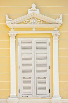 Free Europe Style Window Stock Images - 14659684