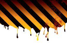 Free Warning Dribble Blood Royalty Free Stock Photo - 14659705