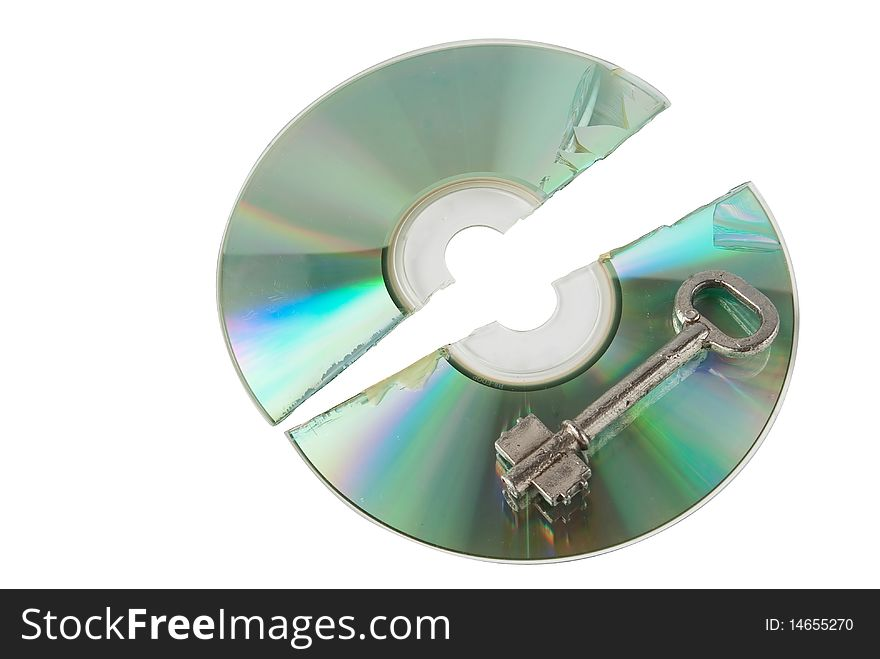 Cracked Cd with key
