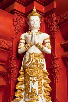 Free The Figure Of Deva Stock Photo - 14660040