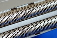 Free Macro View Of The Metal Wire Besh Stock Photo - 14660360