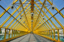 The Glass Bridge. Royalty Free Stock Image