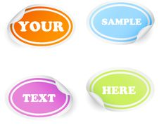 Free Badges And Stickers Stock Photos - 14660563