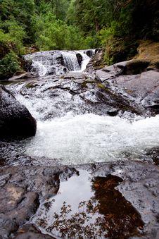 Sweet Creek Falls Royalty Free Stock Image