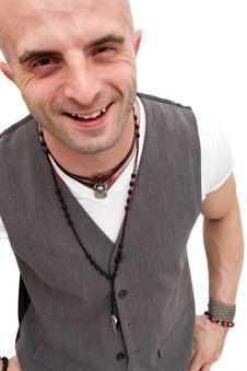 Free Happy Young Man Smiling Royalty Free Stock Photos - 14661428