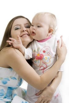 Free Mother And Daughter. Stock Photos - 14661803