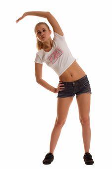 Free Female Fitness Stock Image - 14662061
