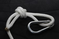 Rope Noose With A Carbine Stock Photography