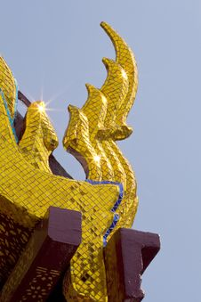 Free Roof Of Wat Phra Keaw Royalty Free Stock Images - 14662629