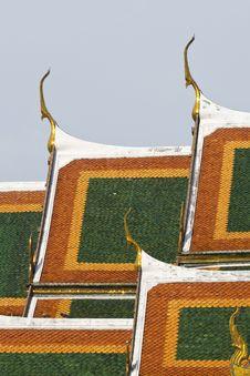 Free Roof Of Wat Phra Keaw Royalty Free Stock Photo - 14662655