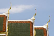 Free Roof Of Wat Phra Keaw Stock Photography - 14662682