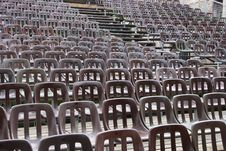 Free Chairs On The Auditorium Stock Photos - 14662743