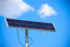Free Solar Sign Stock Image - 14662881