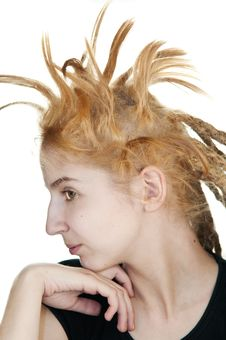 Free Strange Hairdo Stock Images - 14662904