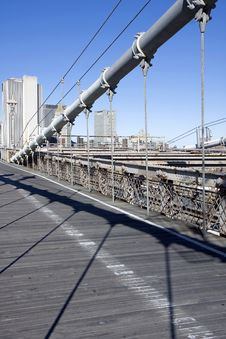 Free Brooklyn Bridge Royalty Free Stock Photo - 14663055
