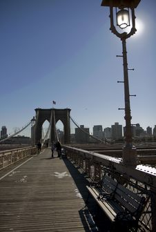 Free Brooklyn Bridge Royalty Free Stock Images - 14663129