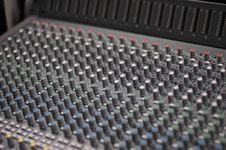Free Audio Console Stock Photos - 14663593