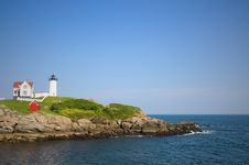 Free Nubble Lighthouse Stock Image - 14663611