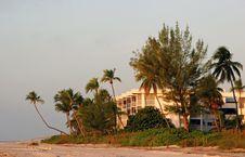 Free Oceanfront Beach Condominium Stock Photo - 14664430