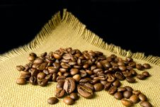 Free Many Coffee Beans Stock Photography - 14664542
