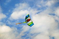 Free Flying Kite Royalty Free Stock Image - 14664676